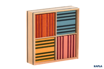 KAPLA Octocolour 100 Plank Box construction game